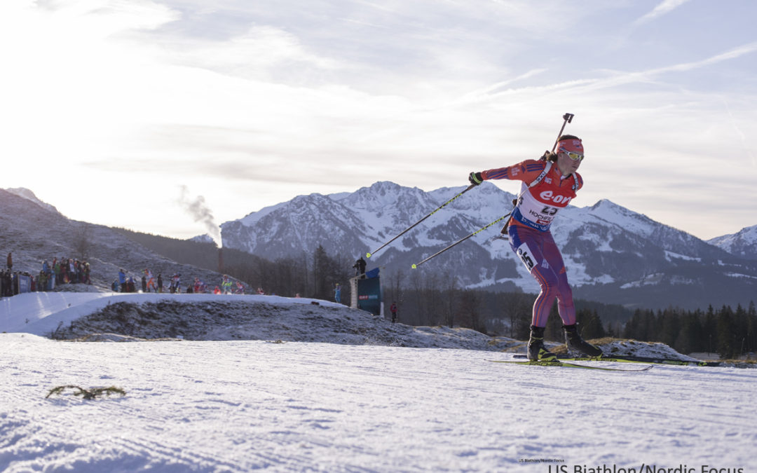 World Championships Start February 9th, Sean to Ski Mixed Relay 8:45 AM