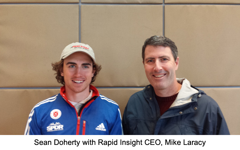 Rapid Insight to Sponsor Local Olympian
