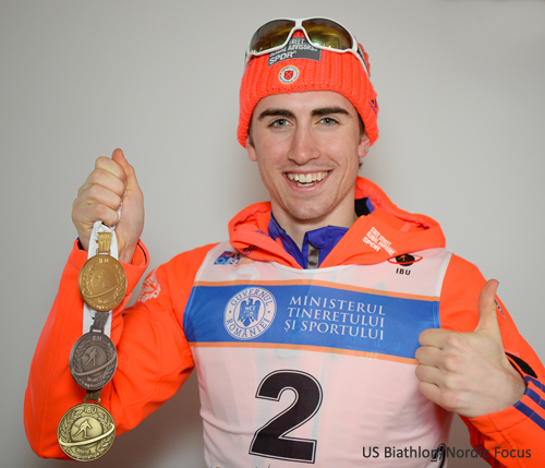 Sean Doherty Carves Out Name for Himself in Biathlon